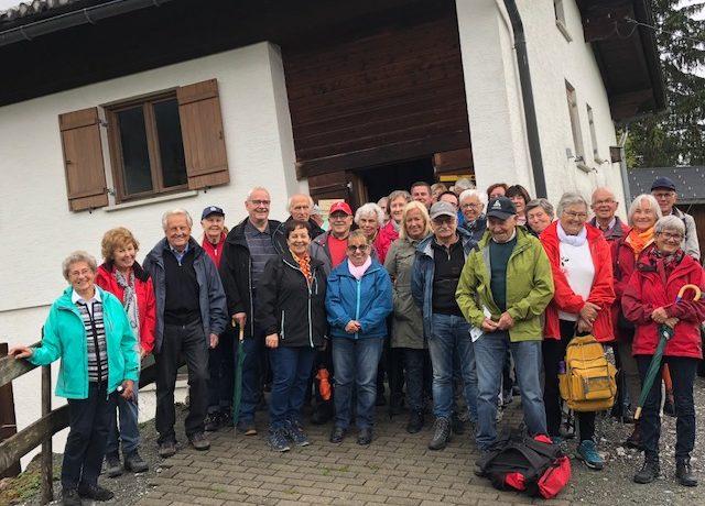 Vereinsausflug nach Sibratsgfäll
