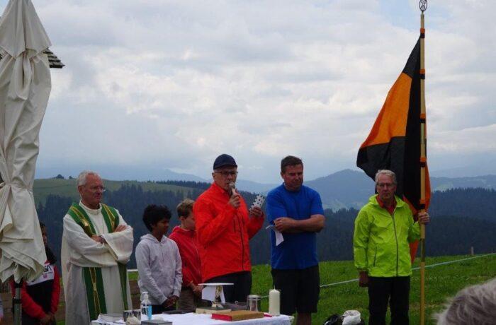 Bergmesse am Hochberg (Pfändergebiet)